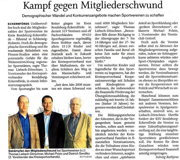 Quelle: www.SHZ.de, 30.3.2012, LAZ Seite 26
