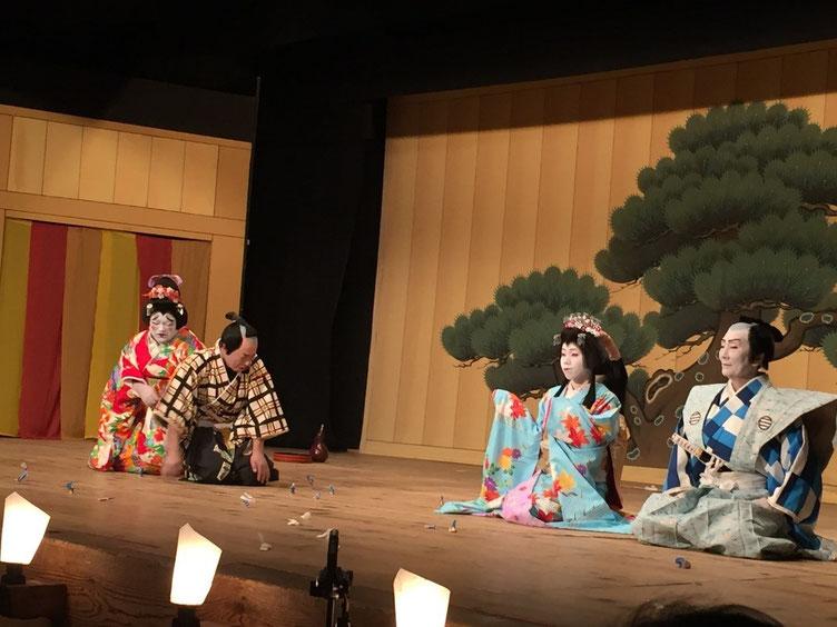 加子母の地歌舞伎