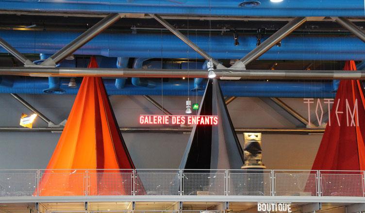 Paris Centre Pompidou Playground