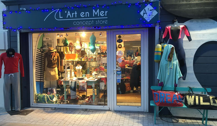 L'Art en Mer Concept Store & Surf Shop Les Lecques 66 avenue du Port