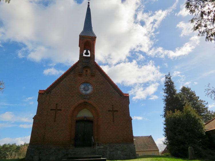 Dorfkirche Drosedow, Kirchen Mecklenburg entdecken, MV