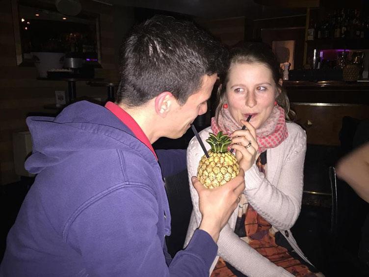 Nikolas Lubbe und Melanie Lubbe beim GRENKE Chess Open 2016