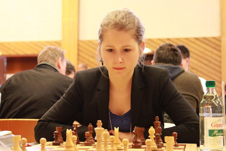 Melanie Lubbe beim 19. Internationalen Neckar-Open 2015