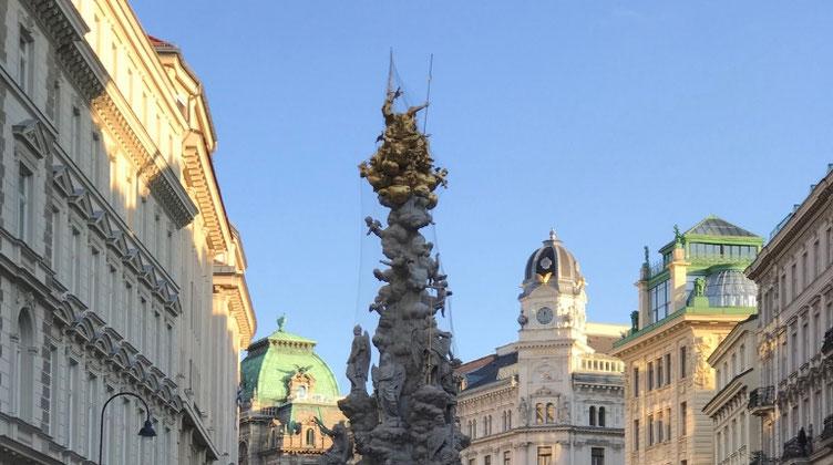 Wien石畳の散歩道