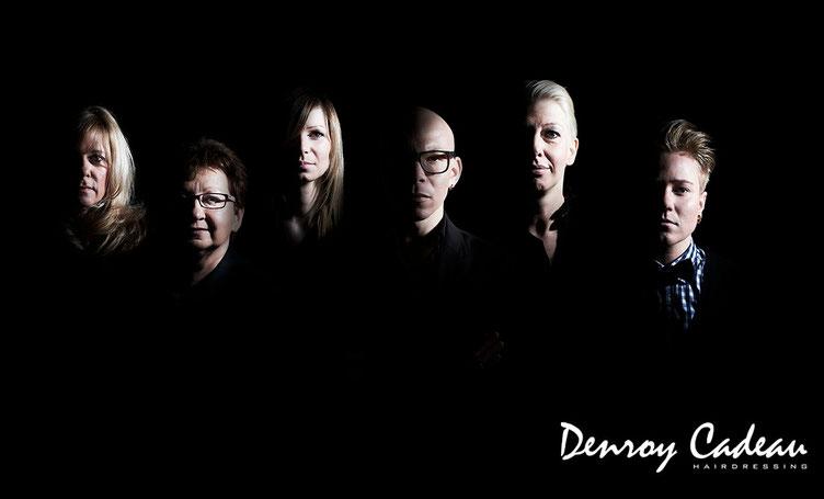 Denroy Cadeau Hairdressing Teamfoto Foto von  Fotografin  Antje Dopheide
