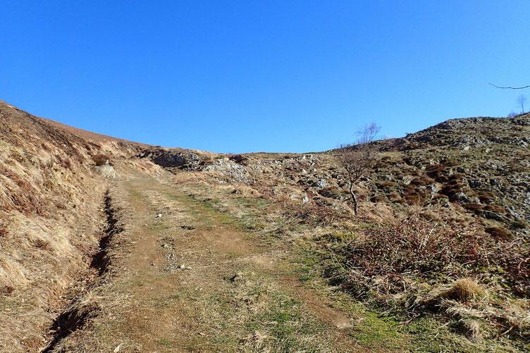 A l'approche du Col de Liar (1348m).