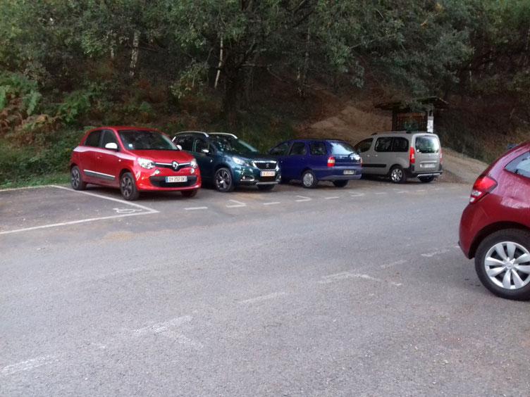 Rando faite avec Martine et Jean-Luc. Parking de la route des Carrières à Ascain.