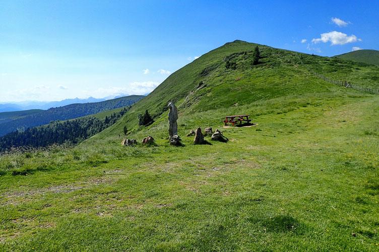 Le Col de Pierrefite et son cromlech.