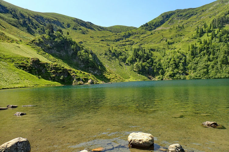 Très joli lac où je m'étais déjà arrêté en allant au Montious.