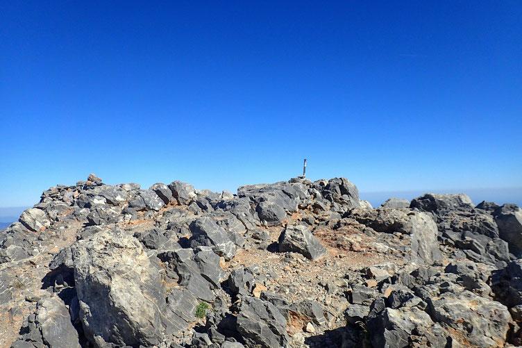 Le Pic d'Anie (2507 m).