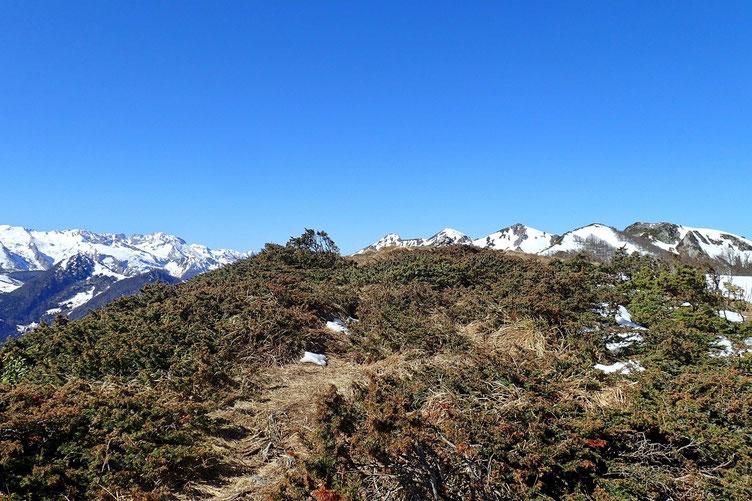 Arrivée au Soum d'Andorre (1684m).