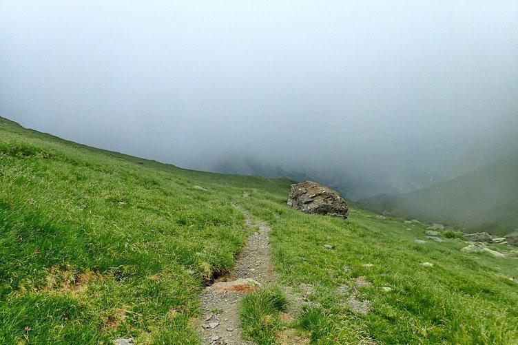 Quelques passages dans la brume...