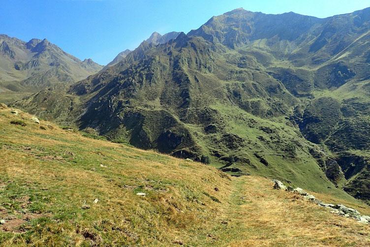 Zone pastorale où les ovidés, bovidés et équidés s'en donnent à coeur joie.
