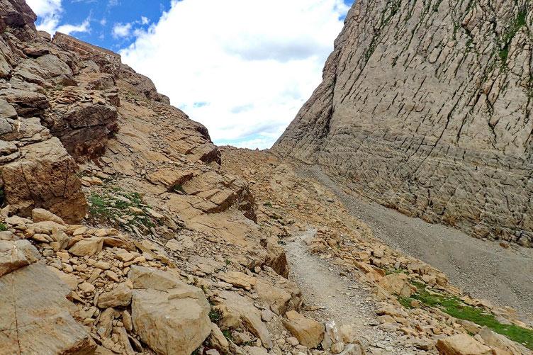 Il faut que je remonte au Col des Sarradets.