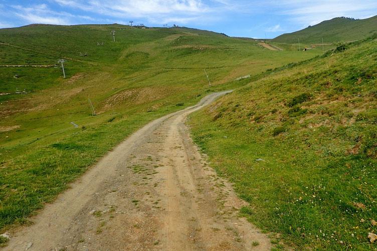 Les pistes de Luz-Ardiden.