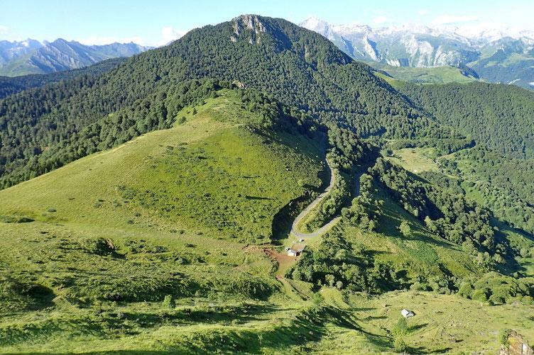 Le Col d'Ansan.