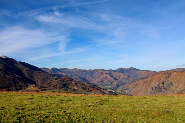 Vers le Pays Basque et Larrau.