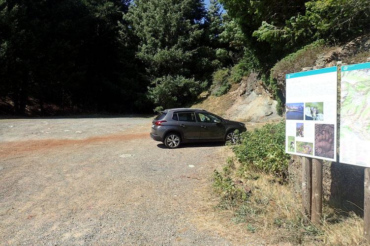 Où je retrouve ma voiture. Personne ici aussi. Une des randonnées les plus sauvages que j'ai faite.