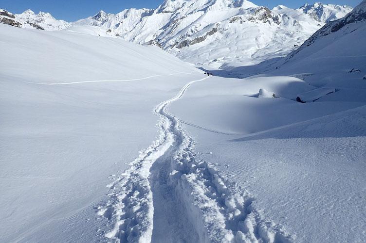 Le groupe UTL va bifurquer vers le Col du Pourtalet...