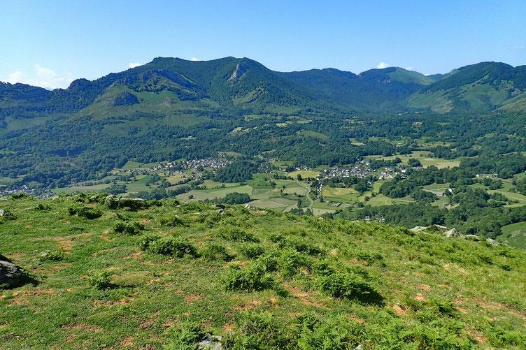 Les villages d'Omex et Ségus.