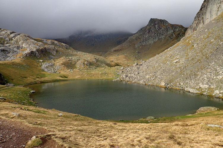 Le Lac Castérau. C'est maintenant sûr, je ne monterai pas au Paradis!