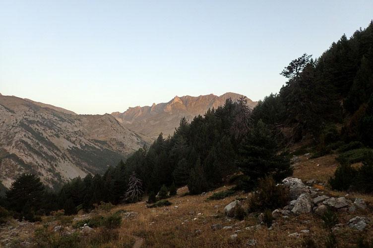 Vers le Pic d'Arriel.
