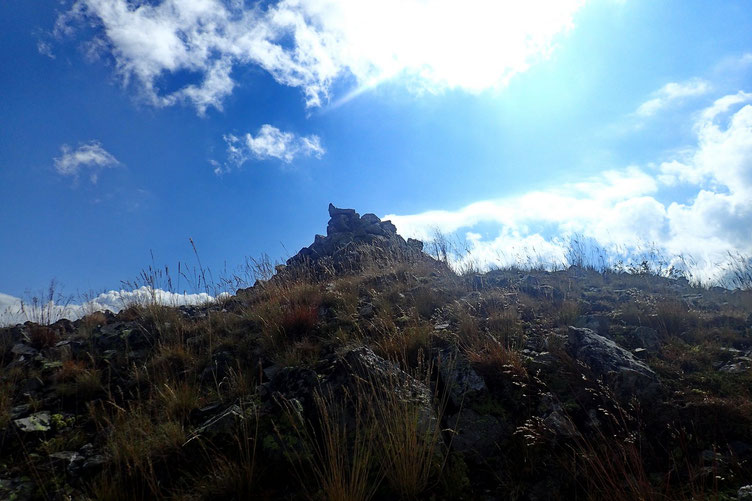 Le cairn du Pic de Lary.