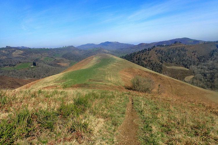 Col d'Ourgaray en vue.
