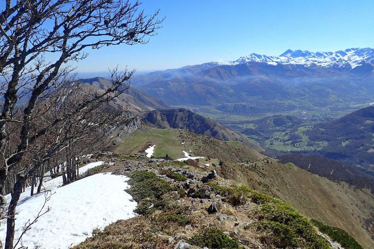 Derrière moi, le Col d'Andorre.