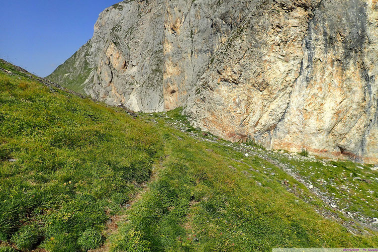 Retour au Col de Pourteillou.