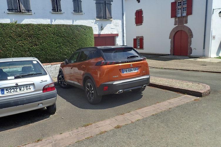 Et au parking.