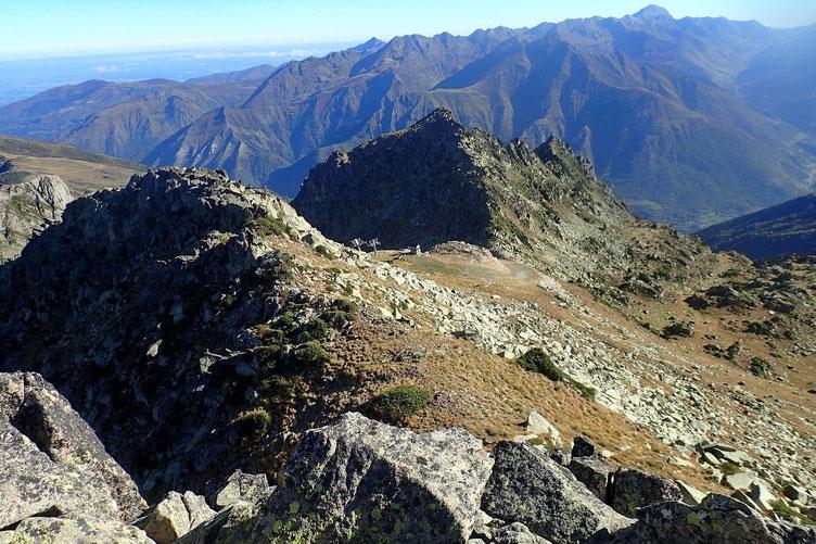 Le Col de Cloze avec l'arrivée du télésiège.