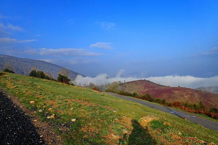 Les nuages sont dans la plaine, mais ils ont une fâcheuse tendance à monter...