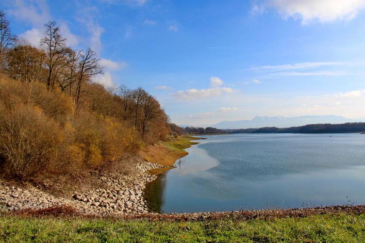 La rive Nord du lac.