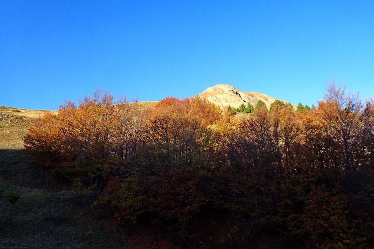 Sur ma droite, le Pico de la Tosquera.