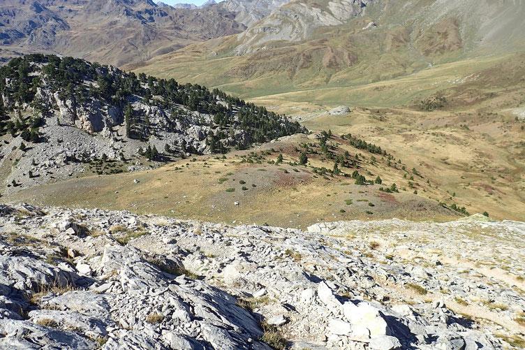 Le Col de Forato n'est plus très loin.