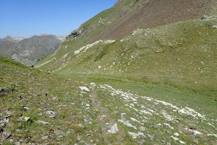 Retour au Col de Cardal.