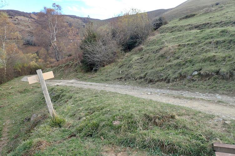 Pour préserver mes genoux, je redescendrai par cette piste...