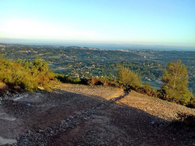 Au bout de quelques minutes de marche, le panorama est splendide.