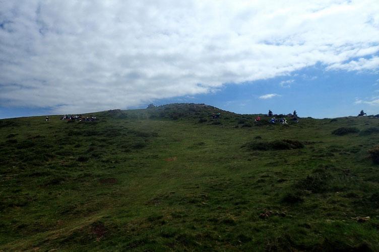 Le Mont Ursuya est un très grand classique du secteur. Et d'accès très facile.