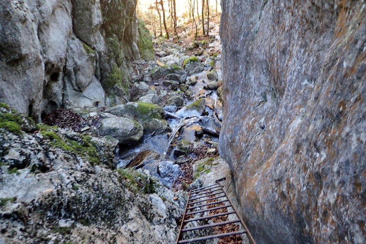 Nouveau passage à la cascade.