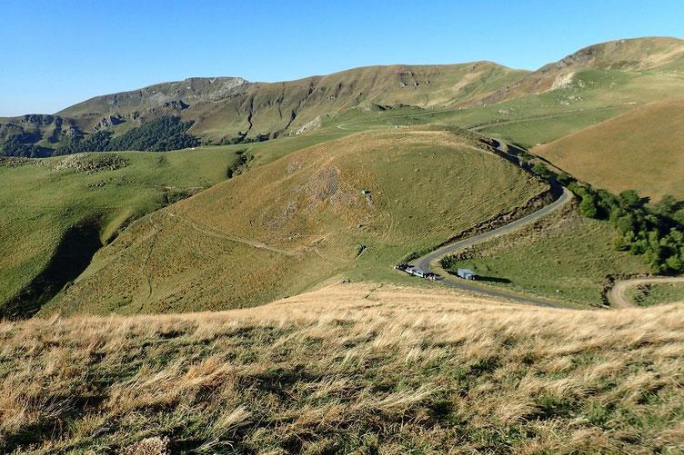 Puis descente sur le Col de Mehatze.