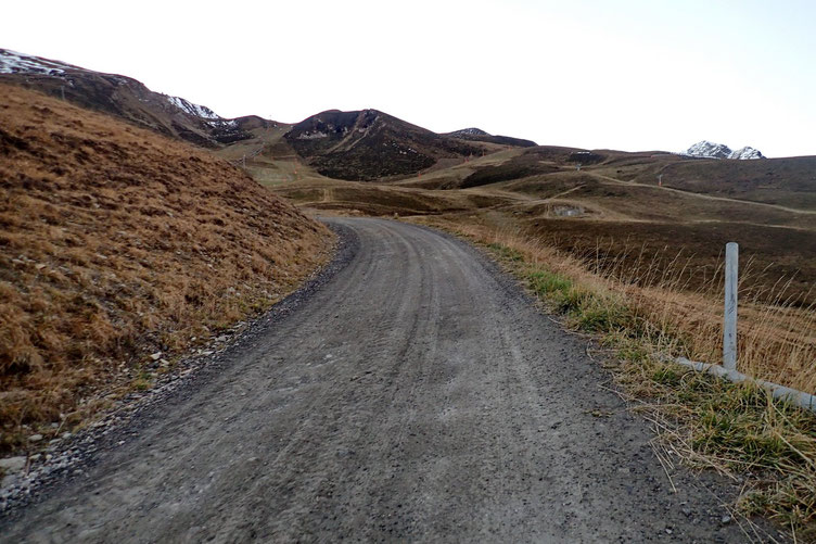 Pour débuter en douceur, une piste peu raide.