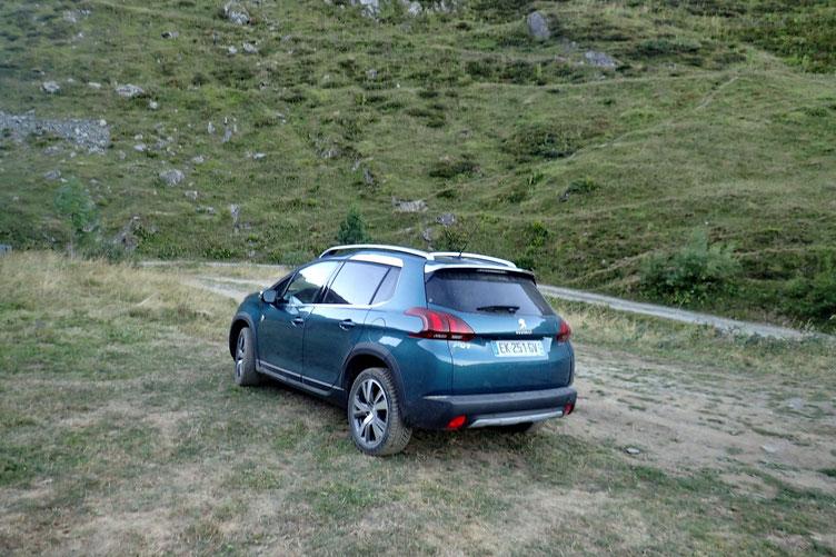 Au bout de la piste de Budéraous (1574m) dans le Val de L'Yse.