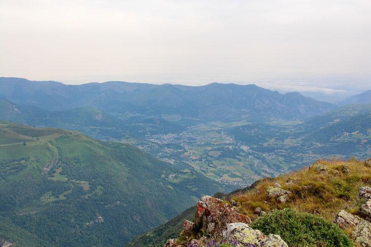 Vers Argelès et la plaine.