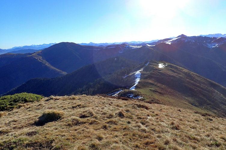 Vers les Pyrénées haute-garonnaises.