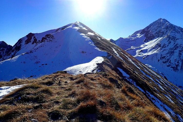 La montée au Montségu devrait se faire sans chausser les raquettes.