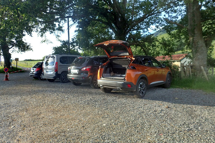 Parking à Bordaberia