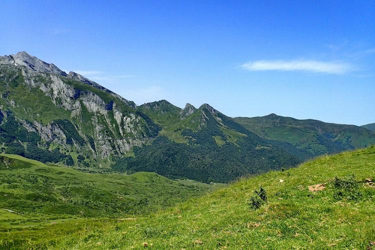 Le Col d'Arbaze, le Moutachou et le Mont Laid.
