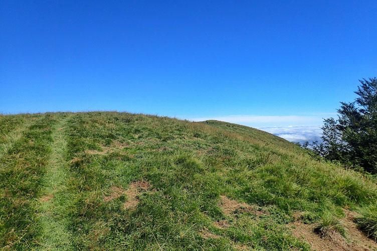 Le sommet est un peu plus loin...